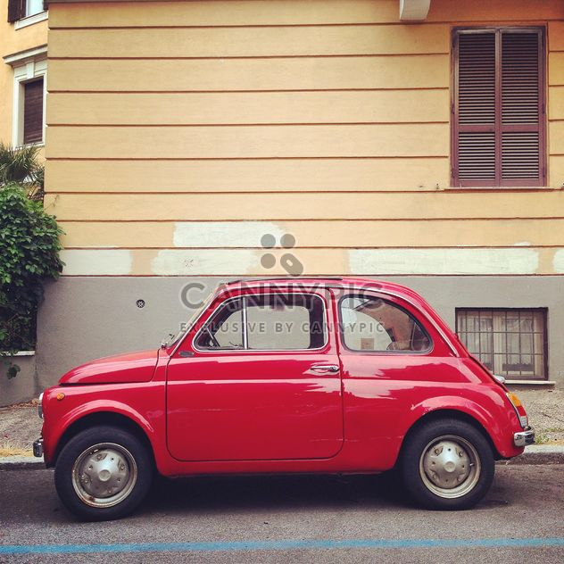 Old Fiat 500 car - Free image #331447