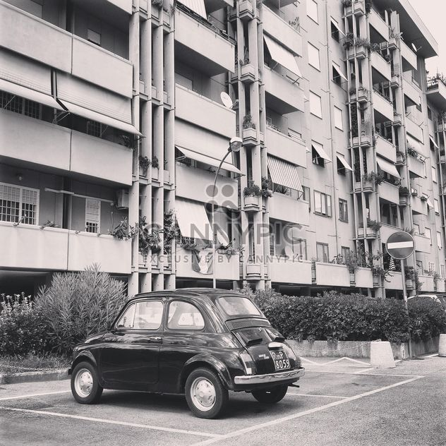 Old Fiat 500 car - Free image #331497