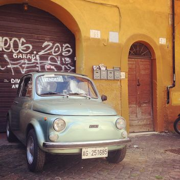 Old Fiat 500 car - Free image #331537