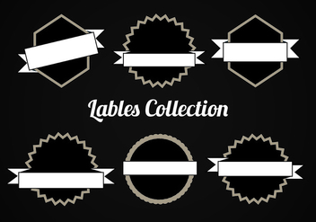 Free Vector Collection of Labels - vector gratuit #331567