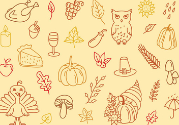 Free Thanksgiving Background - Free vector #331657