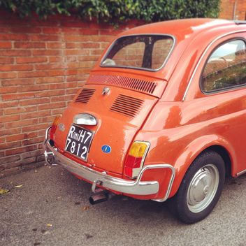 Old Fiat car - image #331707 gratis