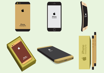 iPhone 6 Vectors - vector #333007 gratis