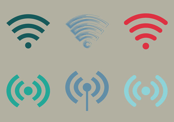Free Wifi Vector Icon - Free vector #333327