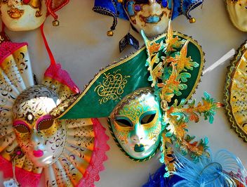 Masks on carnival - Free image #333657