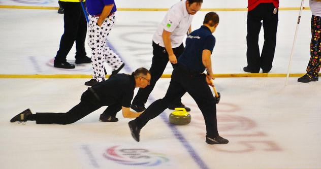 curling sport tournament - image gratuit #333787