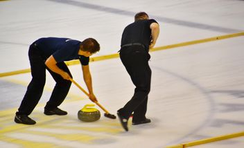 curling sport tournament - image gratuit #333797