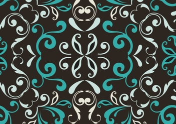 Seamless floral pattern background - Kostenloses vector #334017