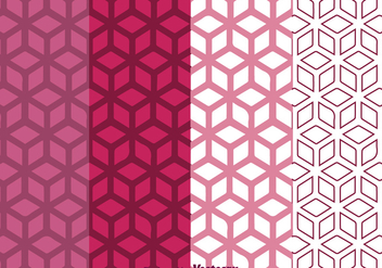 Geometric Purple Background - Free vector #334067