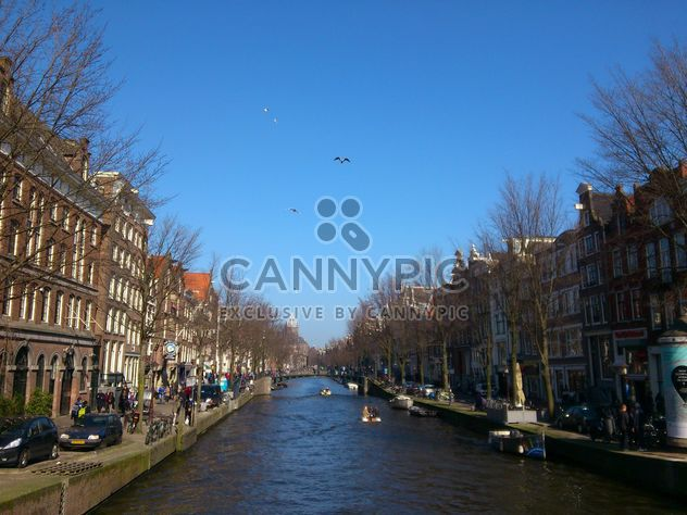 Amsterdam architecture and channels - Free image #335217