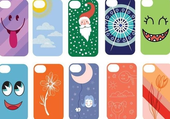 Free Phone Case Vectors - Free vector #335297