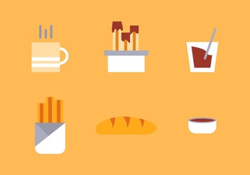 Free Churros Vector Icons #2 - бесплатный vector #335417
