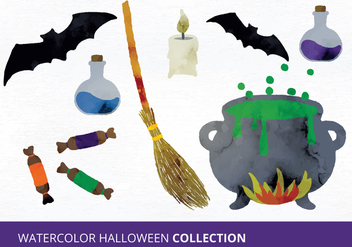 Halloween Vector Set - Kostenloses vector #335477