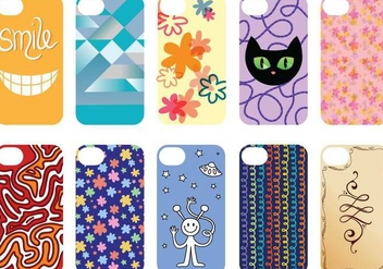 Free Phone Case 2 Vectors - Free vector #335517