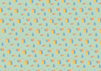 Christmas pattern background - бесплатный vector #335787