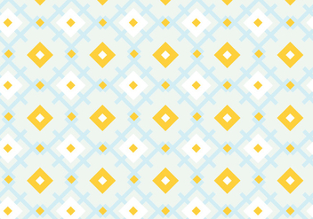 Pastel geometric pattern background - vector gratuit #335797