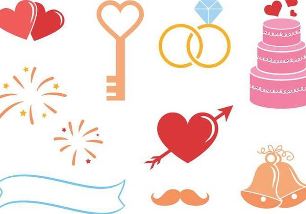 Free Wedding Vectors - vector gratuit #335937