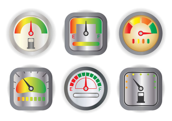 Fuel Gauge Vector - Free vector #336007
