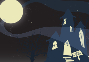 Free Haunted Mansion Vector - vector gratuit #336017
