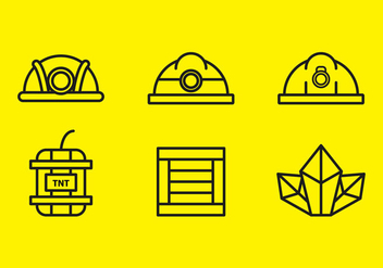 Free Gold Mine Vector Icons #9 - Free vector #336167