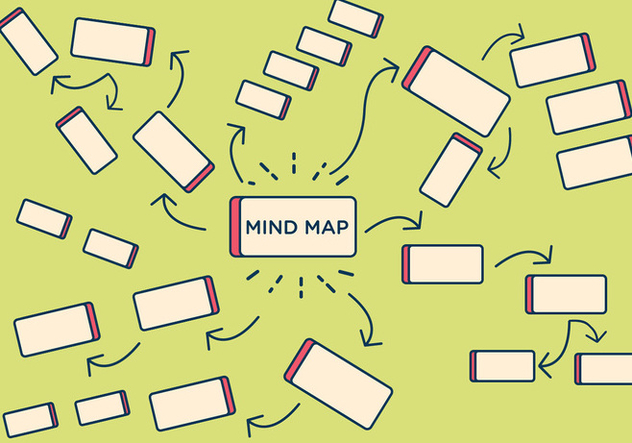 Free Mind Map-Element Vektor - Kostenloses vector #336537