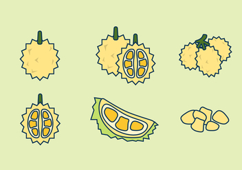 FREE DURIAN VECTOR - Free vector #336647