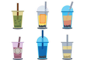 Bubble Tea Vector - Kostenloses vector #336707