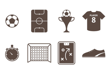 Futsal Icon - Free vector #336727