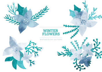 Vector Winter Elements - vector gratuit #336777