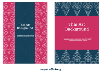 Free Thai Pattern Vector - Free vector #336797