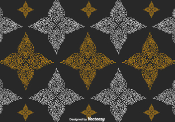 Free Thai Pattern Vector - Free vector #336807