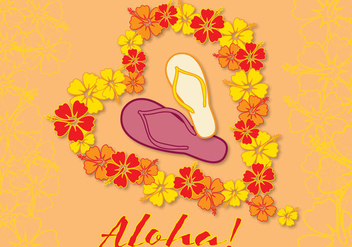 Card Aloha Love - Free vector #336947