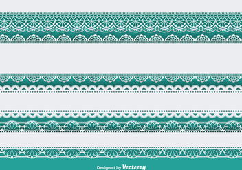 Lace trims set - Free vector #337127