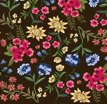 Flower wallpaper - Free vector #337337