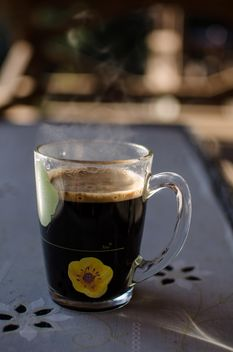 Cup of black coffee - image #337887 gratis