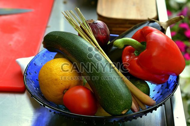 Fresh vegetables and fruit - Free image #338297