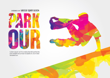 Parkour vector design - Free vector #338447