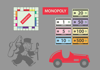 Monopoly Vector Illustrations - Kostenloses vector #338627