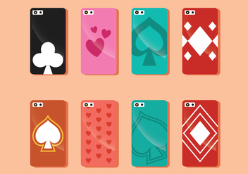 Phone Case Vector - vector gratuit #338687