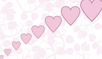 Valentines day background - vector gratuit #338997