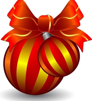 Christmas decoration - Free vector #339047