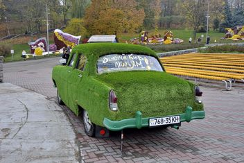 Car covered with ivy - бесплатный image #339147