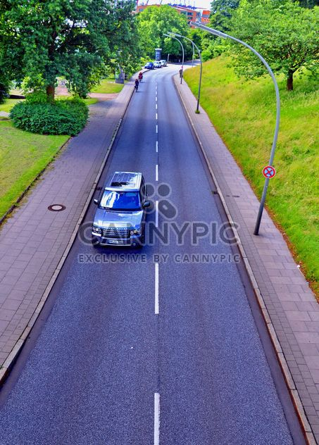 Range Rover on road - Free image #339167
