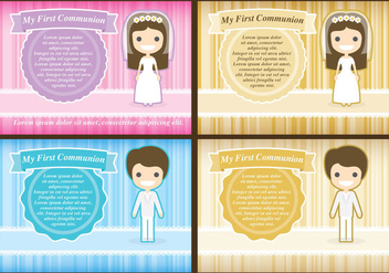 Communion Templates - бесплатный vector #339407