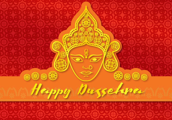 Card Happy Durga - vector #339417 gratis