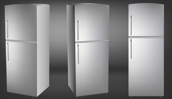 Vector refrigerators free illustration - Free vector #339597