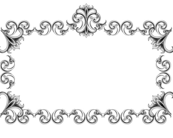 Victorian Style Frame - vector gratuit #339797