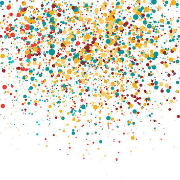 Colorful Confetti - vector gratuit #339847