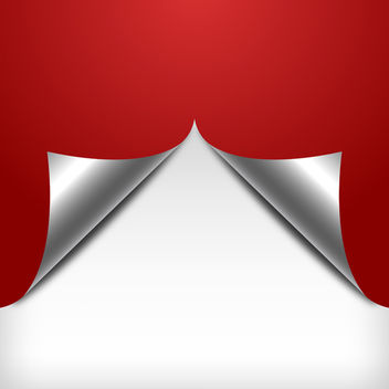 Red Curl Paper Background - бесплатный vector #339857