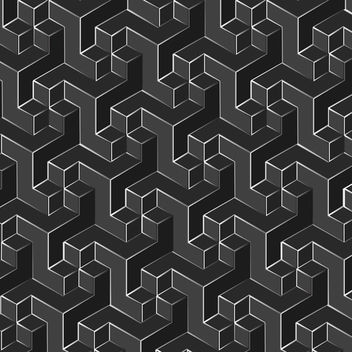 Cubic Background - Free vector #340237
